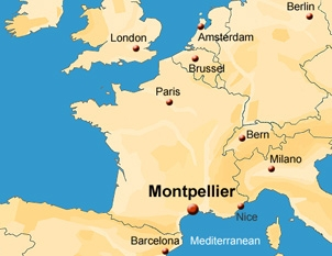 Montpellier Map Of France.Dr Frederic Coutrot Glycorotaxane Rotaxane Smarteam Contact Us